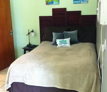 Full Size bed in Cabana Verde.